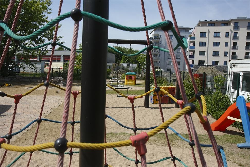 Klettergerüst Reck : Kindertagesstätte der frei religiösen gemeinde zu offenbach